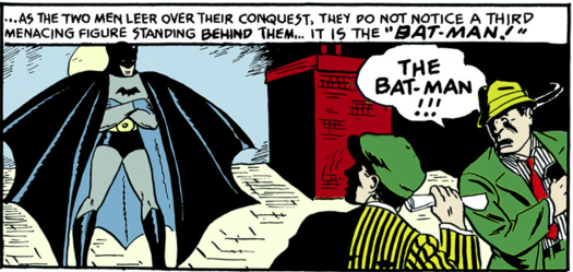batman-first-appearance